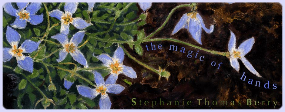 stephanie thomas berry : the magic of hands