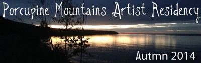 posts about my porcupine mountains artist residency