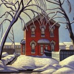 """""""The Red House"""" by Lawren Harris of the Group of Seven"""
